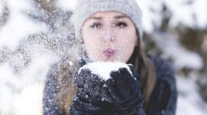 Vinter - hud - ben- hender